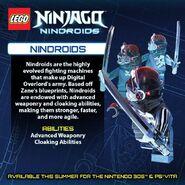 LEGO Ninjago Nindroids Nindroïdes