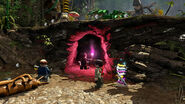 LEGO Jurassic World The Videogame Ian, Nick & Eddie