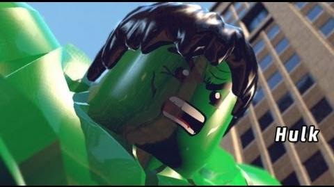 LEGO Marvel Super Heroes Walkthrough - Complete Demo Walkthrough