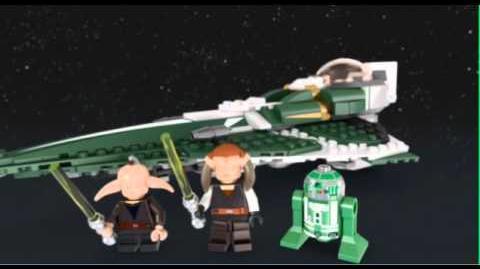 LEGO STAR WARS - Saesee Tiin's Jedi Starfighter 9498