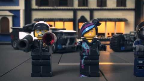 The LEGO Movie - NEW Bad Cop Car Chase