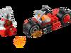 30265 La moto de feu de Worriz