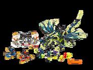 70736 L'attaque du dragon Moro