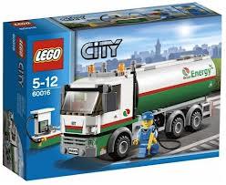 Lego tank truck