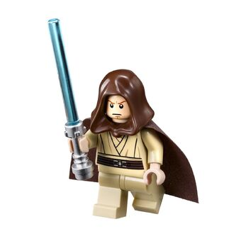 Standard Cape Lego Obi-Wan Kenobi 75246 Old Hood Basic Star Wars Minifigure