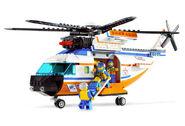 7738 L'hélicoptère et le canot de sauvetage des garde-côtes 2