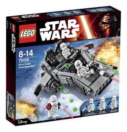 Lego First Order Snowspeeder box1