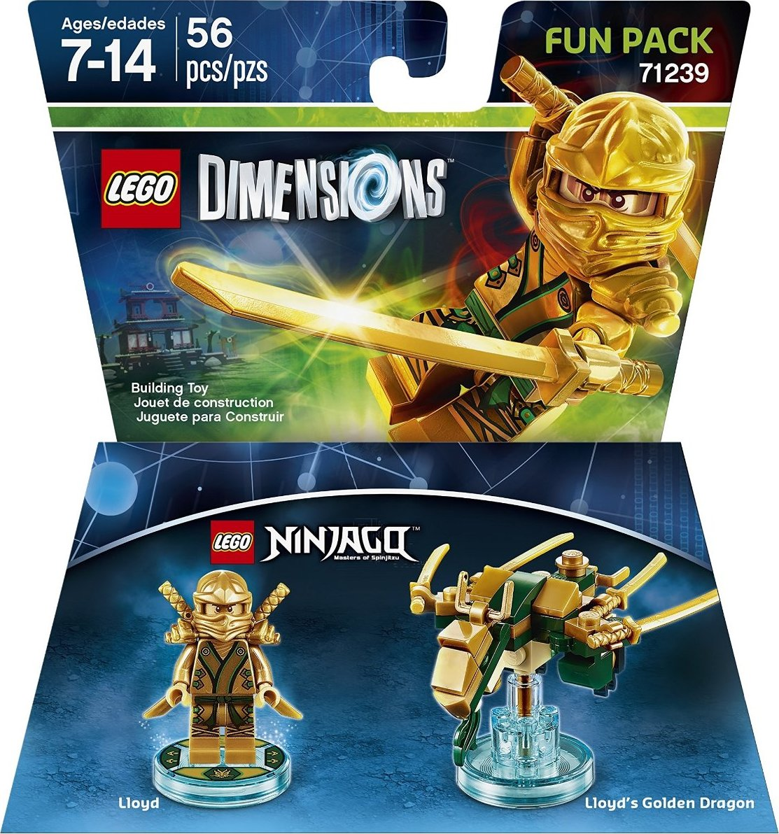 LEGO Legends of Chima MiniFigure Laval w// Chima Sword From Set 71222