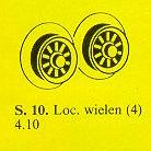 10-Locomotive Wheels