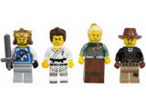 5004422 Collection de minifigurines Les guerriers
