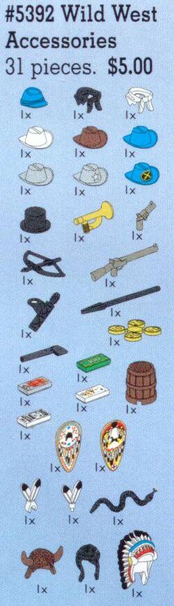 5392 Wild West Accessories
