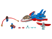 76076 La poursuite en avion de Captain America