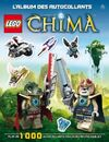 Legends of Chima L'album des autocollants
