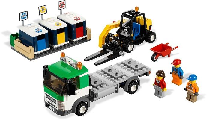 4206 Le Camion De Recyclage Wiki Lego Fandom Powered