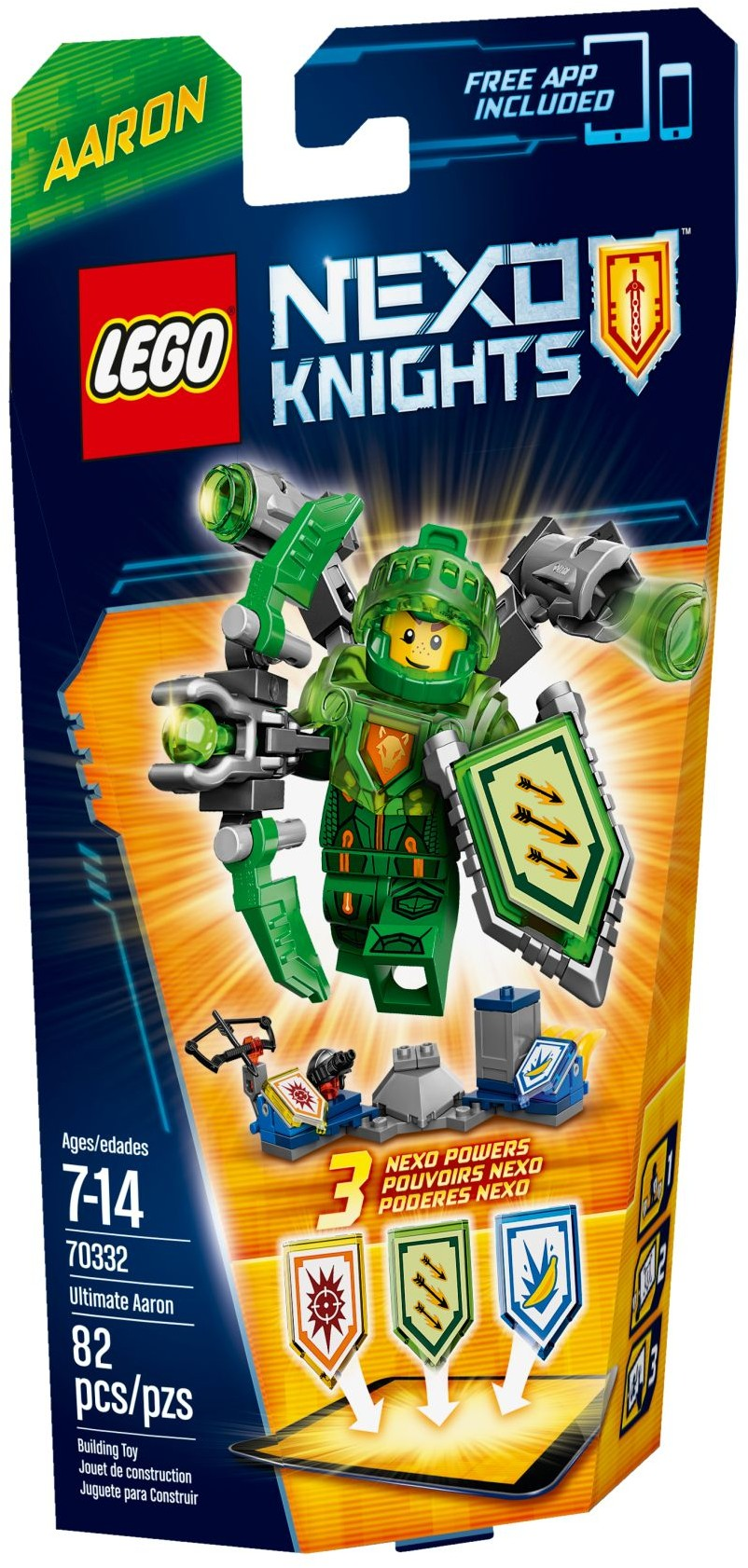 LEGO 70373 Nexo Knights Collectable NEXO Powers SEALED and NEW