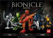Bionicle stars game