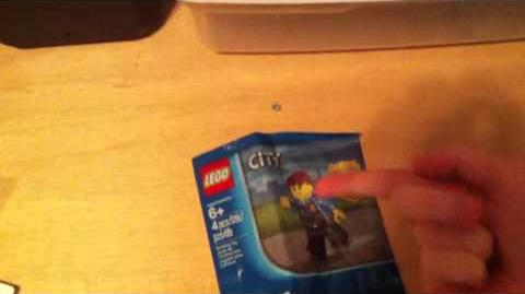 Chase McCain Minifigure (LEGO City Undercover pre-order bonus)