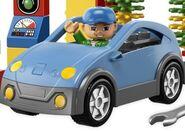 DUPLO Blue Car