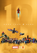 LEGO Marvel Studios 10 Years