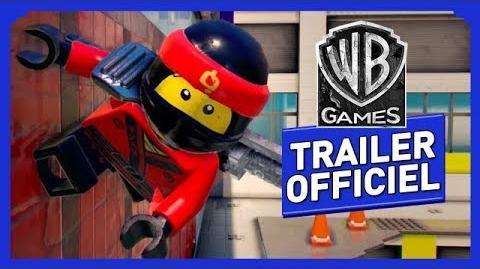 LEGO NINJAGO, le film le jeu vidéo - L'Agilité du Ninja - Trailer Officiel