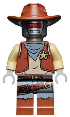 SHERIFF DEPUTRON Movie Series lego mini figure COWBOY