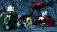 Dwalin, Bofur, Bombur and Dori