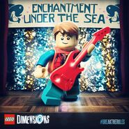 LEGO Dimensions Marty McFly