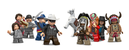 Personnages The Lone Ranger