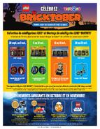 Bricktober Calendrier 2017 Canada