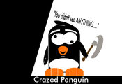Crazed penguin