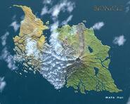 Island of Mata Nui 1280x1024