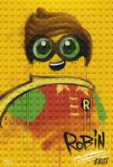 The LEGO Batman Movie Poster graffiti Robin