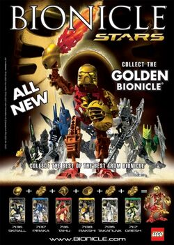 BIONICLE STARS POSTER