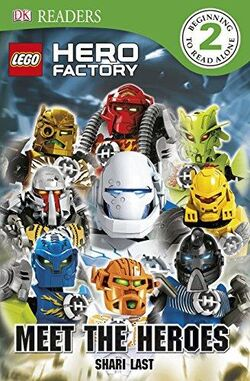 DK Readers L2- LEGO Hero Factory- Meet the Heroes Cover