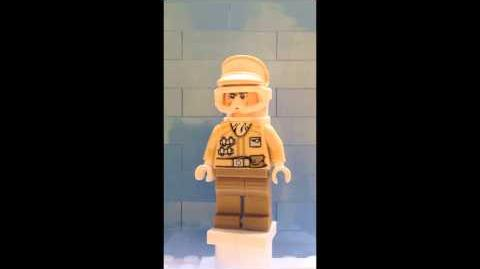 Imperial Trooper Hoth from LEGO 9509 Star Wars Advent Calendra Day 12