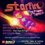 LEGO Batman 3 Heroines & Villainesses Pack Starfire