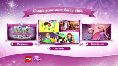 LEGO Brand Disney Princess Fairy Tale Adventure - Rapunzel