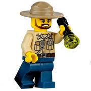 Male Police Officer 3 (Swamp)