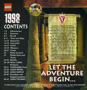 1998 large UK catalog adventurers backstory