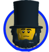 6)Abraham Lincoln (Medival Clothes)