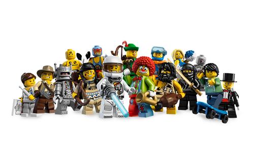 8683 Minifigures Série 1