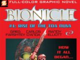 BIONICLE Graphic Novel 1: Rise of the Toa Nuva