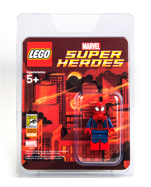 Comic con exclusive amazing spider man 2 suit spider man giveaway brickipedia fandom powered - Lego the amazing spider man 3 ...