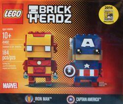 41492 Iron Man & Captain America