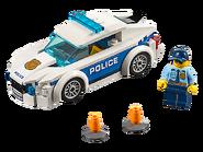 60239 La voiture de patrouille de la police
