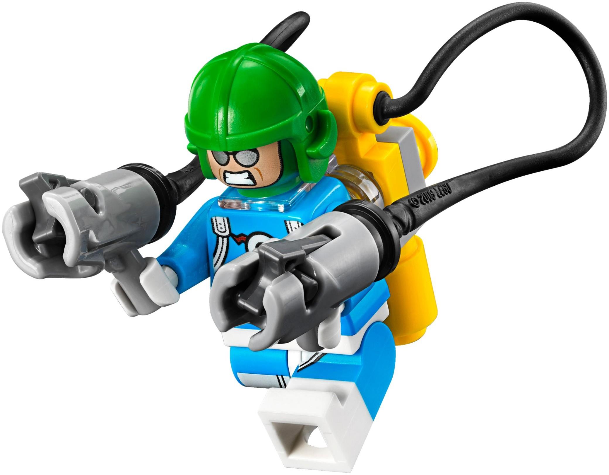 LEGO Batman Movie Condiment King /& Captain Boomerang Mini Figures Egghead