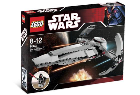 LEGO STAR WARS INSTRUCTION MANUAL BOOKLETS 7961 DARTH MAULS SITH INFILTRATOR