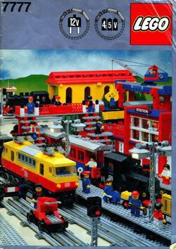 7777 Trains Idea Book