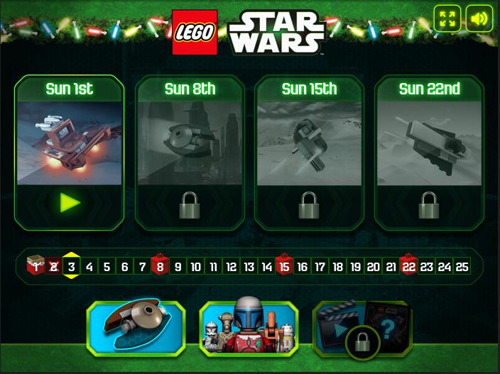 Star Wars Advent Calendar (Game) | Brickipedia | FANDOM powered by Wikia