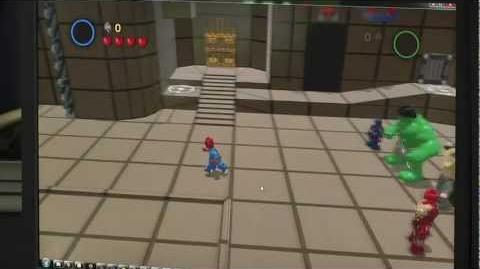 Playing Spider-Man in Lego Marvel Super Heroes